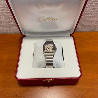 Cartier - カルティエ サントスガルべ 超美品 オーバーホール済