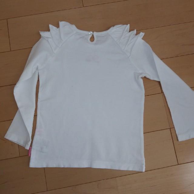 mikihouse(ミキハウス)のミキハウス 長袖シャツ キッズ/ベビー/マタニティのキッズ服女の子用(90cm~)(Tシャツ/カットソー)の商品写真