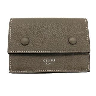 celine - 入手困難 極美品 セリーヌ  celine フォルデットコンパクト スリ