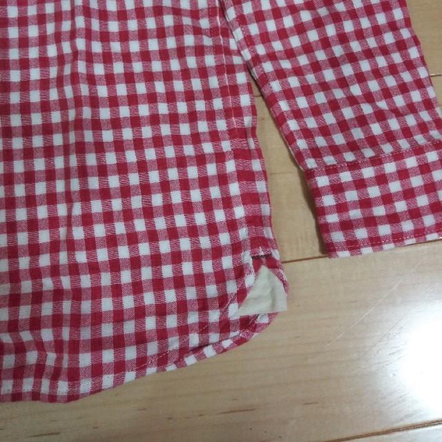 mikihouse(ミキハウス)のミキハウス 長袖シャツ キッズ/ベビー/マタニティのキッズ服男の子用(90cm~)(Tシャツ/カットソー)の商品写真