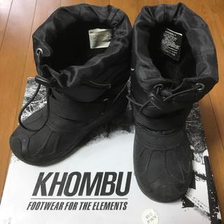★ KHOMBU ★ スノーブーツ US12 JP18CM