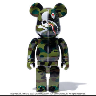 アベイシングエイプ(A BATHING APE)のmastermind VS BAPE BE@RBRICK 400% 100%(その他)