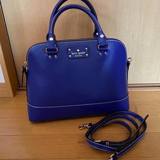 kate spade new york - ケイトスペード バッグ ショルダー 青 ブルー