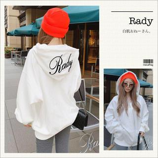 Rady - Rady♡ビックシルエットパーカー♡ホワイト