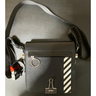 OFF-WHITE - Off White DIAG MEN BINDERCLIP BAG