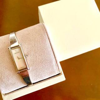 Gucci - 【大特価!!】GUCCI グッチ 腕時計 1500L ホワイト ホワイトデー🎀