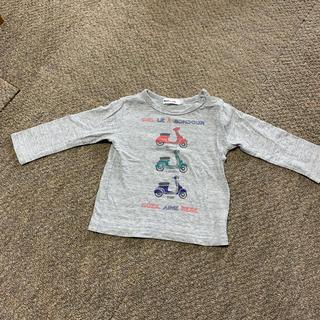 ベベノイユ(BEBE Noeil)のBeBe 長袖Tシャツ サイズ90(Tシャツ/カットソー)