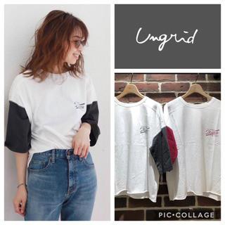 Ungrid - Ungrid**バイカラーロゴtee