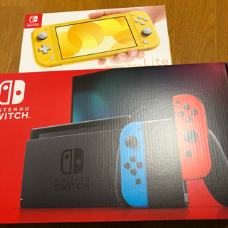 ニンテンドースイッチ(Nintendo Switch)の任天堂switch 新型 lite 本体 新品未使用(家庭用ゲーム機本体)
