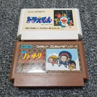 ファミリーコンピュータ(ファミリーコンピュータ)のファミコン  藤子不二雄 2本セット(家庭用ゲームソフト)