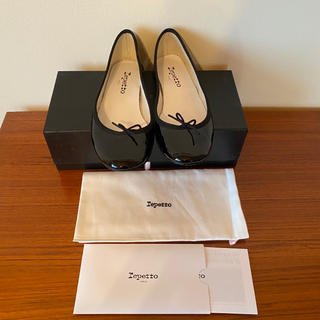 repetto - 【未使用】Repetto Cendrillon エナメル38