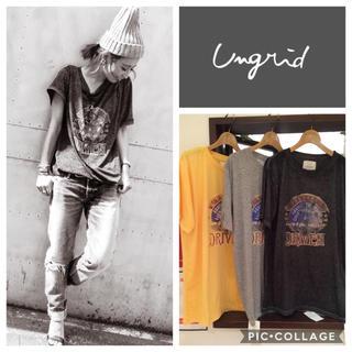 Ungrid - Ungrid**DRIVENウォッシュtee