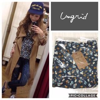 Ungrid - Ungrid**小花柄タンクトップ