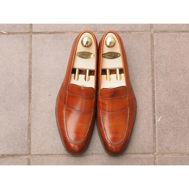 EDWARD GREEN(エドワードグリーン)の未使用 EDWARD GREEN 7.5E BUCKINGHAM チェスナット メンズの靴/シューズ(ドレス/ビジネス)の商品写真