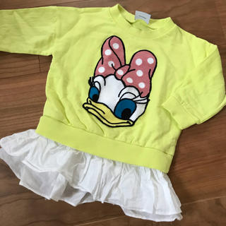 Disney - 韓国子供服 デイジー スウェット トレーナー