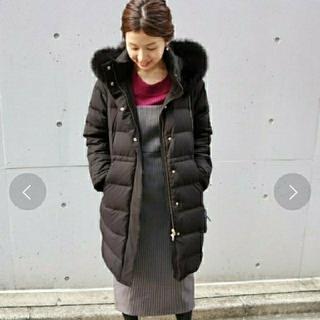 IENA - ◆新品 イエナ タフタロングダウンコート ブラック サイズ38