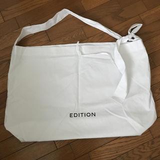 エディション(Edition)のEdition ショップバッグ(ショップ袋)