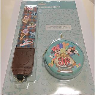 Disney - 【新品】東京ディズニーランド36周年 一眼レフカメラ用ストラップ
