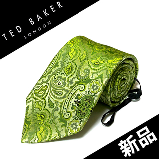 TED BAKER - 【新品未使用タグ付】TED BAKER ネクタイ イタリア製 ペイズリー柄