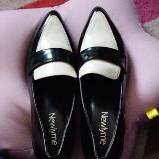 ローファー革パンプス(ローファー/革靴)