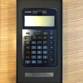 CASIO - [新品 未使用]カシオ 電卓S100-BU