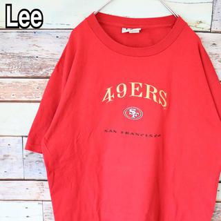 リー(Lee)のリー  NFL 90s ビッグシルエット 刺繍ロゴ Tシャツ L(Tシャツ/カットソー(半袖/袖なし))