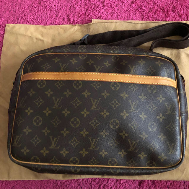 LOUIS VUITTON(ルイヴィトン)のルイヴィトン モノグラム ショルダーバッグリポーターGM  美品! レディースのバッグ(ショルダーバッグ)の商品写真