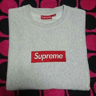 Supreme - supreme box logo crewneck Mサイズ