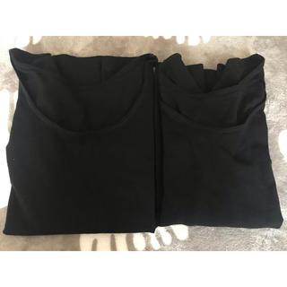 ムジルシリョウヒン(MUJI (無印良品))の無印良品 綿であったかインナー 2枚(アンダーシャツ/防寒インナー)