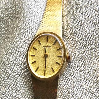 オリエント(ORIENT)のアンティーク ヴィンテージ   オリエント 総ゴールドプレート 手巻き美品(腕時計)