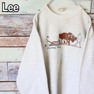 リー(Lee)のリー 90s トレーナー スウェット プリント L(スウェット)