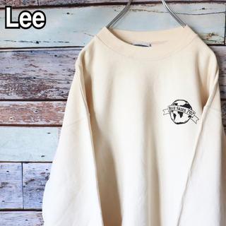 リー(Lee)のリー 90s バックプリント トレーナー スウェット L(スウェット)