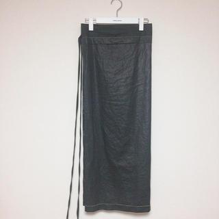 ジョンリンクス(jonnlynx)のfumikauchida  巻きスカート(ロングスカート)