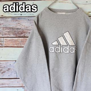 アディダス(adidas)のアディダス 90s パフォーマンスロゴ トレーナー スウェット S(スウェット)