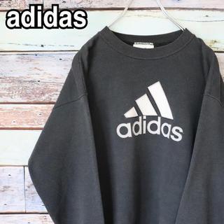 アディダス(adidas)の美品 アディダス 90s パフォーマンスロゴ トレーナー スウェット XL(トレーナー/スウェット)