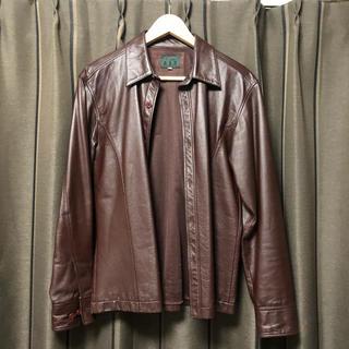 ヨウジヤマモト(Yohji Yamamoto)のYohji Yamamoto A.A.R  leather jacket(レザージャケット)