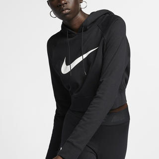 NIKE - 【新品】NIKE Cropped French Terry Hoodie