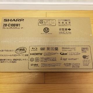 SHARP - SHARP 2B-C10BW1 ブルーレイレコーダー