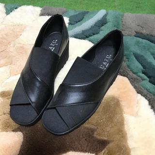 女性用 靴 IGUAZU Lサイズ(ハイヒール/パンプス)