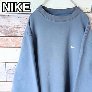 ナイキ(NIKE)のナイキ 90s ビッグシルエット 刺繍ロゴ トレーナー スウェット XL(スウェット)