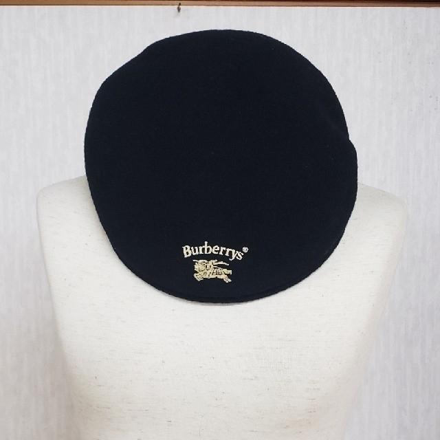 BURBERRY(バーバリー)のバーバリーズ帽子 ウール100% メードインイングランド メンズの帽子(ハンチング/ベレー帽)の商品写真