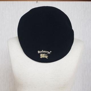 BURBERRY - バーバリーズ帽子 ウール100% メードインイングランド