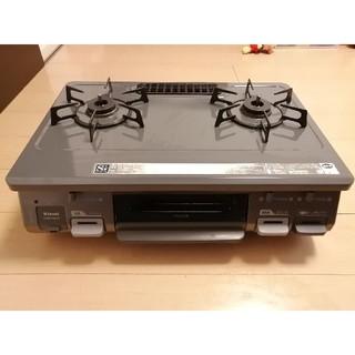 リンナイ(Rinnai)のガスコンロ リンナイ RT64JH-R LPガス用 右側強火力(調理機器)