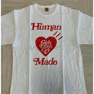 Supreme - TシャツHUMAN MADE girls don't cry コラボT XL 白