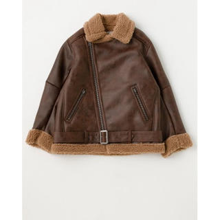 moussy - F/LEATHER OVER SIZED ジャケット