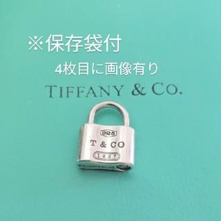 Tiffany & Co. - ティファニー カデナ 南京錠 パドロックトップ ネックレス 保存袋付 シルバー