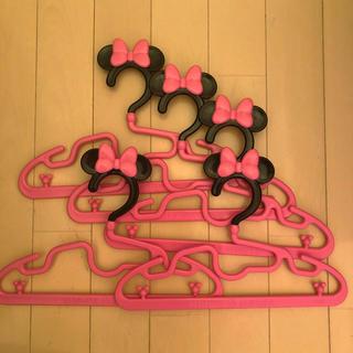 ディズニー(Disney)のミニー ハンガー 5本セット(その他)