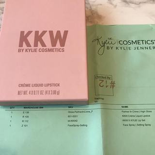 カイリーコスメティックス(Kylie Cosmetics)のkylie 完全正規品 kkw リップセット(口紅)