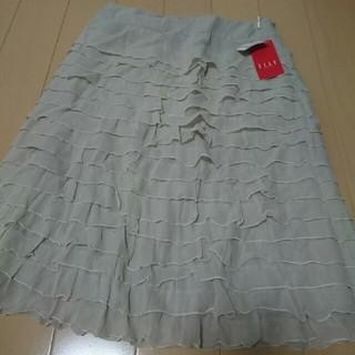 エル(ELLE)のスカート  ELLE  新品(ひざ丈スカート)