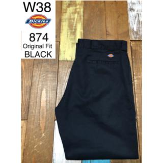 Dickies - 30072 アメリカ 輸入 USED ディッキーズ 874 ブラック W38